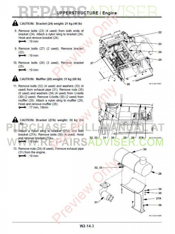 Hitachi Zaxis 450(LC)-3 470(LC)H-3 500LC-3 520LCH-3 Hydraulic Excavators Set of PDF Manuals, Hitachi Manuals by www.repairsadviser.com