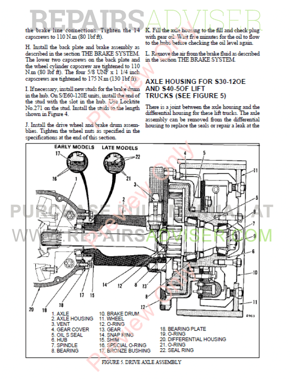 Hyster Class 1 For B108 Europe Electric Motor Rider Trucks PDF Manual, Manuals for Trucks by www.repairsadviser.com