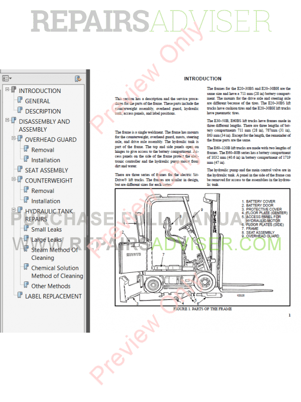 hyster class 1 for b114 americas electric motor rider trucks pdf manual download