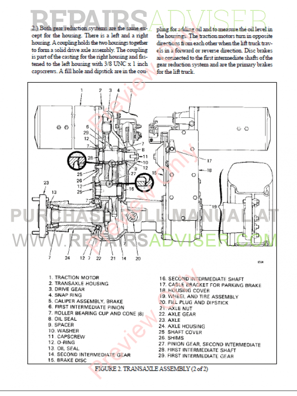 Hyster Class 1 For B160 Electric Motor Rider Trucks PDF Manual, Manuals for Trucks by www.repairsadviser.com