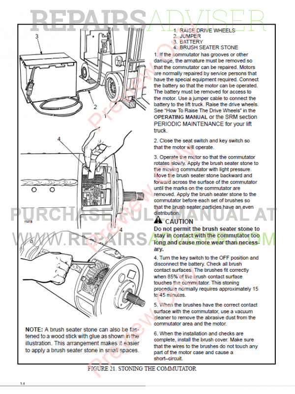 Hyster Class 1 For D160 Europe Electric Motor Rider Trucks PDF Manual, Manuals for Trucks by www.repairsadviser.com