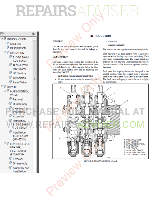 Hyster Class 1 For F108 (Pre-SEM) Electric Motor Rider Trucks PDF Manual, Manuals for Trucks by www.repairsadviser.com