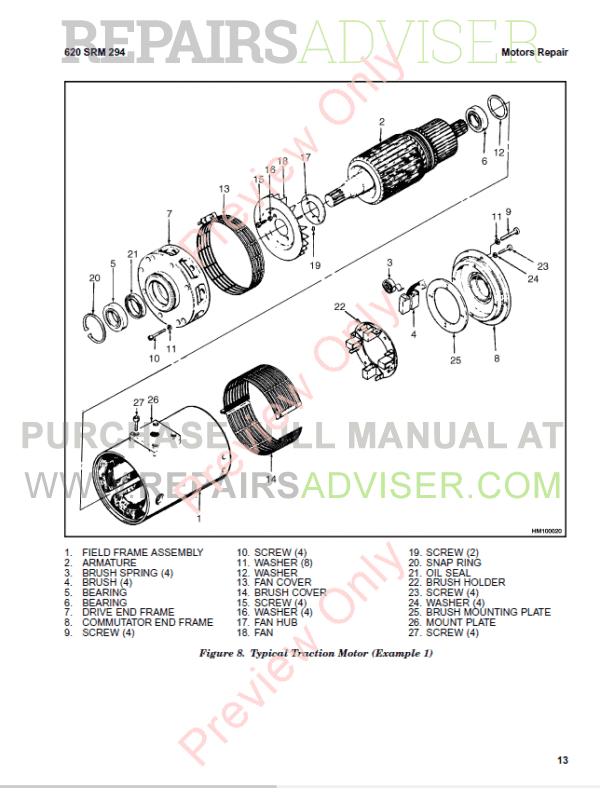 Hyster Class 1 For D114 Europe Electric Motor Rider Trucks PDF Manual, Manuals for Trucks by www.repairsadviser.com