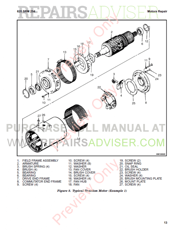 Hyster Class 1 For G108 Electric Motor Rider Trucks PDF Manual, Manuals for Trucks by www.repairsadviser.com