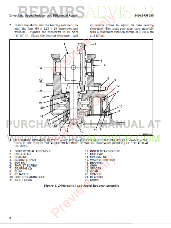 Hyster Class 1 For G108 Europe Electric Motor Rider Trucks PDF Manual, Manuals for Trucks by www.repairsadviser.com