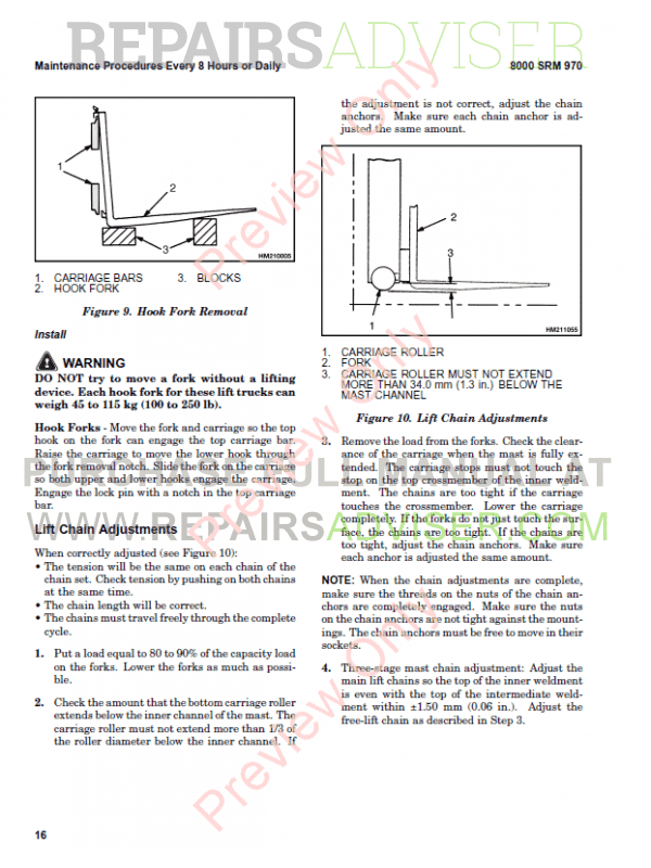 Hyster Class 2 For B264 Electric Motor Narrow Aisle Trucks PDF Manual, Manuals for Trucks by www.repairsadviser.com