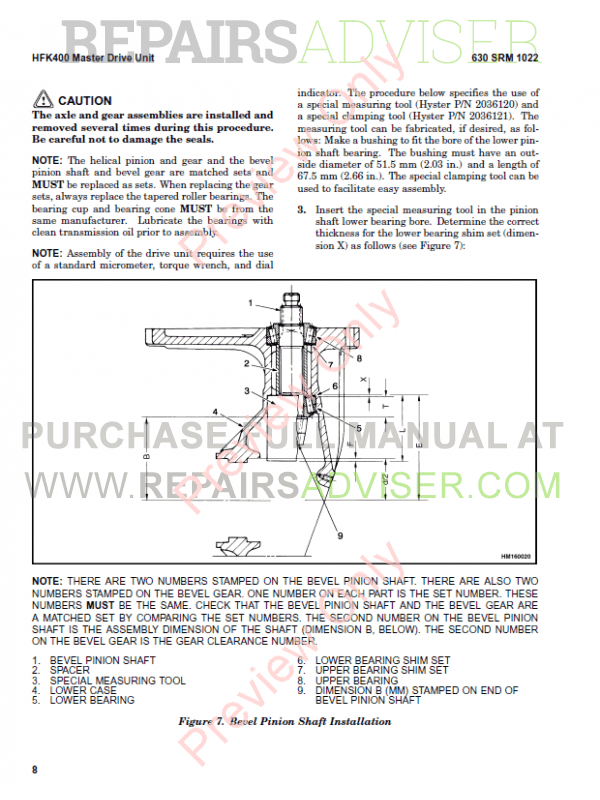 Hyster Class 2 For C471 Electric Motor Narrow Aisle Trucks PDF Manual, Manuals for Trucks by www.repairsadviser.com