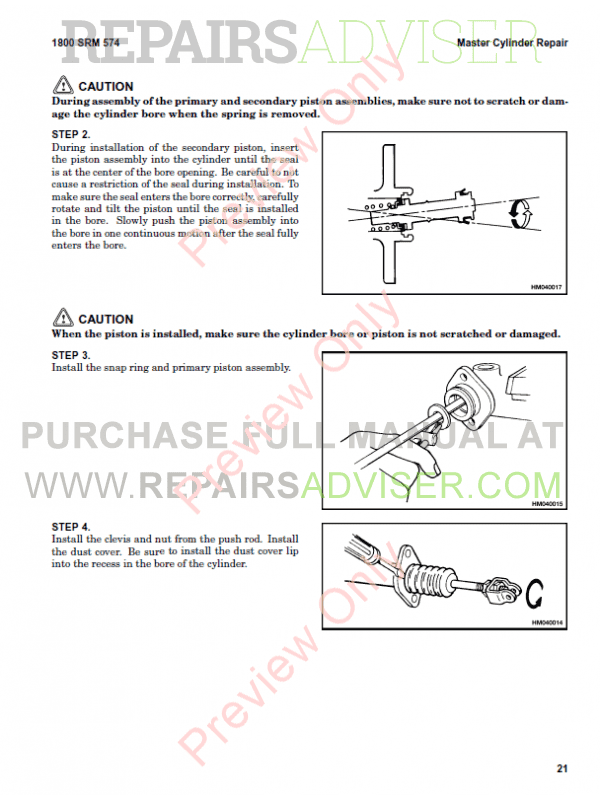Hyster Class 2 For D210 Electric Motor Narrow Aisle Trucks PDF Manual, Manuals for Trucks by www.repairsadviser.com