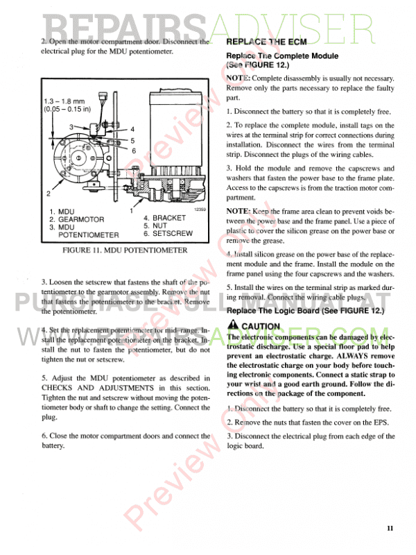 Hyster Class 2 For E118 Electric Motor Narrow Aisle Trucks PDF Manual, Manuals for Trucks by www.repairsadviser.com