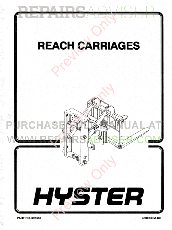 hyster engine diagram