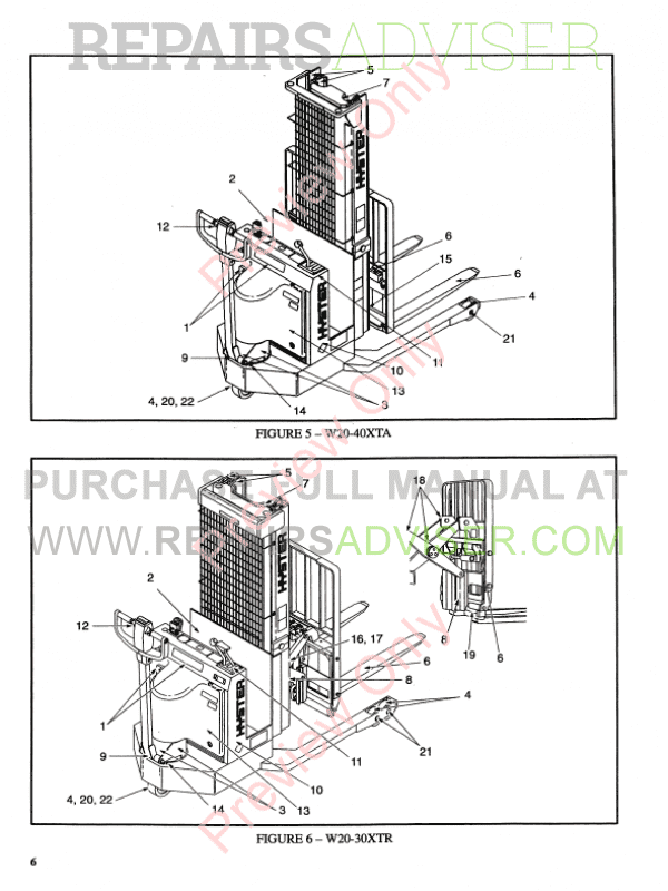 Hyster Class 3 For A455 Electric Motor Hand Trucks PDF Manual, Manuals for Trucks by www.repairsadviser.com