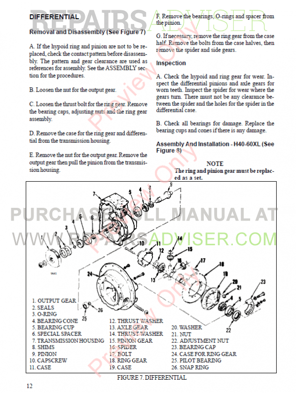 Hyster Class 4 For B010 Europe Internal Combustion Engine Trucks PDF Manual, Manuals for Trucks by www.repairsadviser.com
