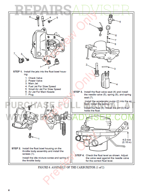 Hyster Class 4 For B187 Europe Internal Combustion Engine Trucks PDF Manual, Manuals for Trucks by www.repairsadviser.com