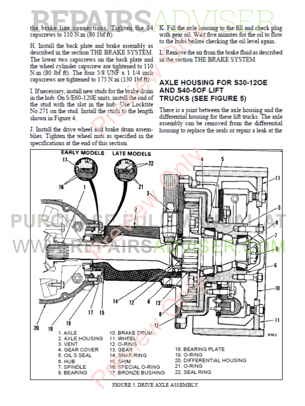 Hyster Class 4 For C004 Europe Internal Combustion Engine Trucks PDF Manual, Manuals for Trucks by www.repairsadviser.com