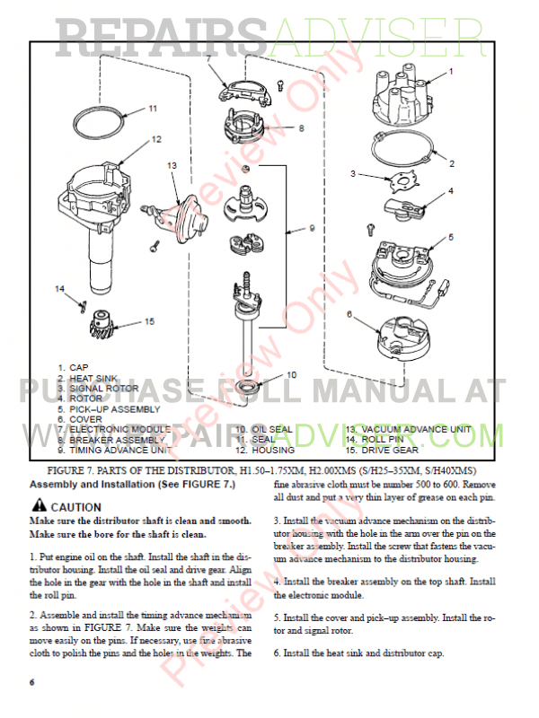 Hyster Class 4 For C010 Europe Internal Combustion Engine Trucks PDF Manual, Manuals for Trucks by www.repairsadviser.com