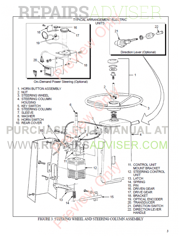 Hyster Class 4 For C010 Internal Combustion Engine Trucks - Cushion Tire PDF Manual, Manuals for Trucks by www.repairsadviser.com