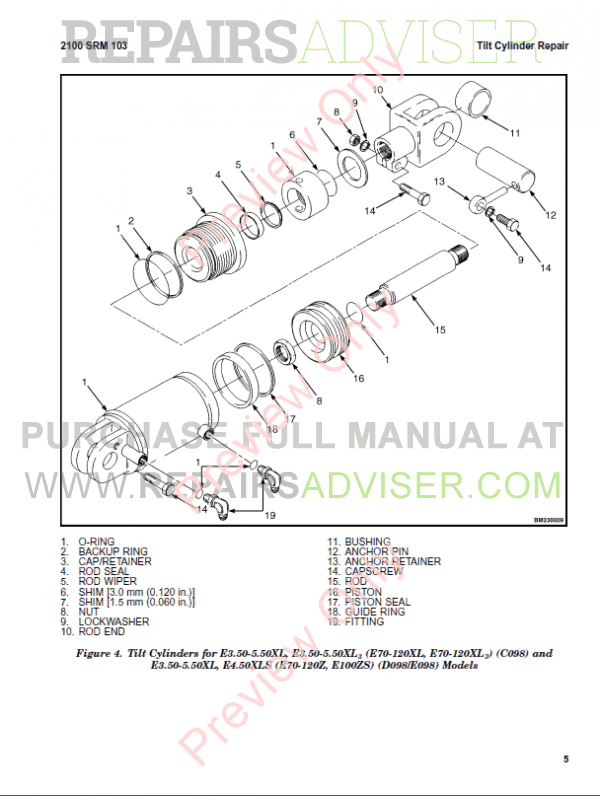 Hyster Class 4 For C024 Europe Internal Combustion Engine Trucks PDF, Manuals for Trucks by www.repairsadviser.com