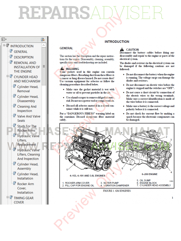 Hyster Class 4 For C187 Europe Internal Combustion Engine Trucks PDF Manual image #1