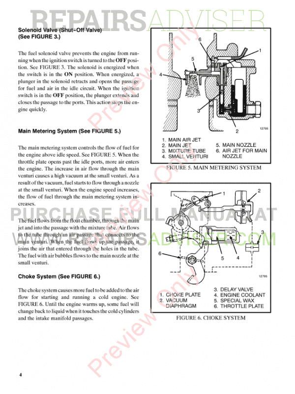 Hyster Class 4 For D187 Internal Combustion Engine Trucks PDF Manual, Manuals for Trucks by www.repairsadviser.com