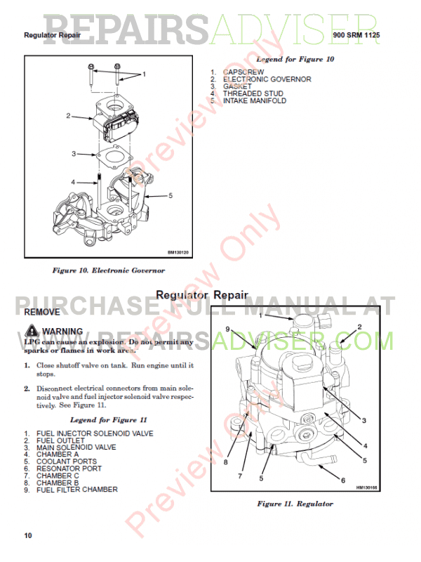 Hyster Class 4 For E010 Internal Combustion Engine Trucks PDF Manual, Manuals for Trucks by www.repairsadviser.com
