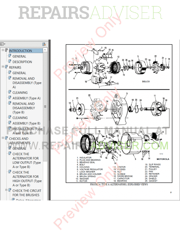 Hyster Class 5 For B177 Europe Internal Combustion Engine Trucks PDF Manual image #1