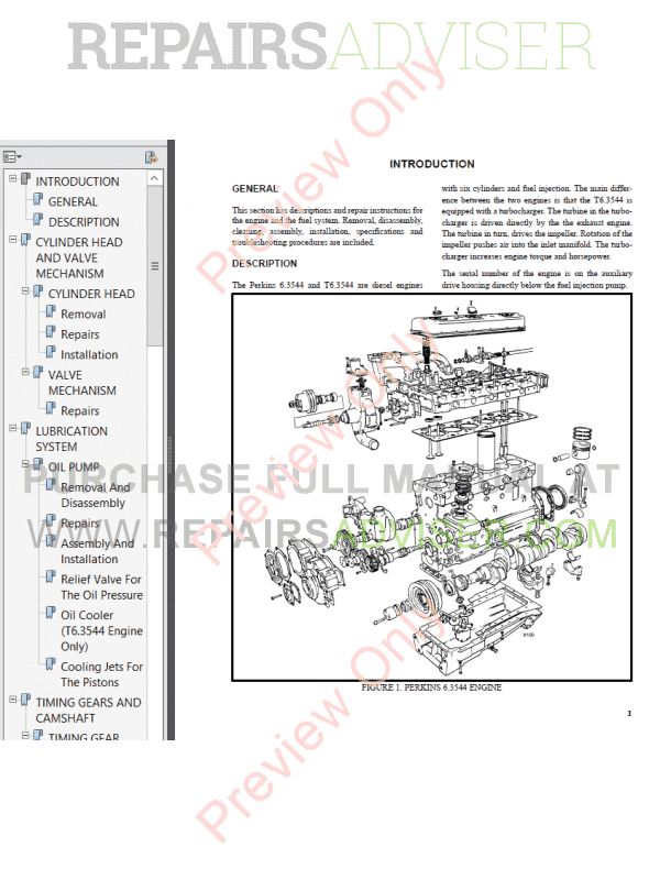 Hyster Class 5 For C007 Europe Internal Combustion Engine Trucks PDF Manual image #1