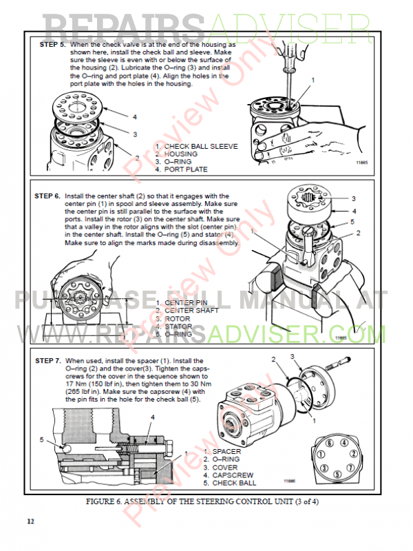 Hyster Class 5 For C019 Internal Combustion Engine Trucks PDF Manual, Manuals for Trucks by www.repairsadviser.com