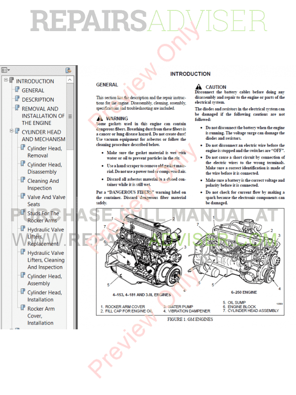 Hyster Class 5 For C177 Internal Combustion Engine Trucks PDF Manual image #1