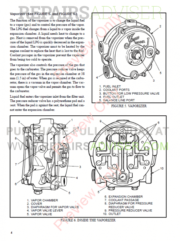 Hyster Class 5 For D001 Internal Combustion Engine Trucks PDF Manual, Manuals for Trucks by www.repairsadviser.com