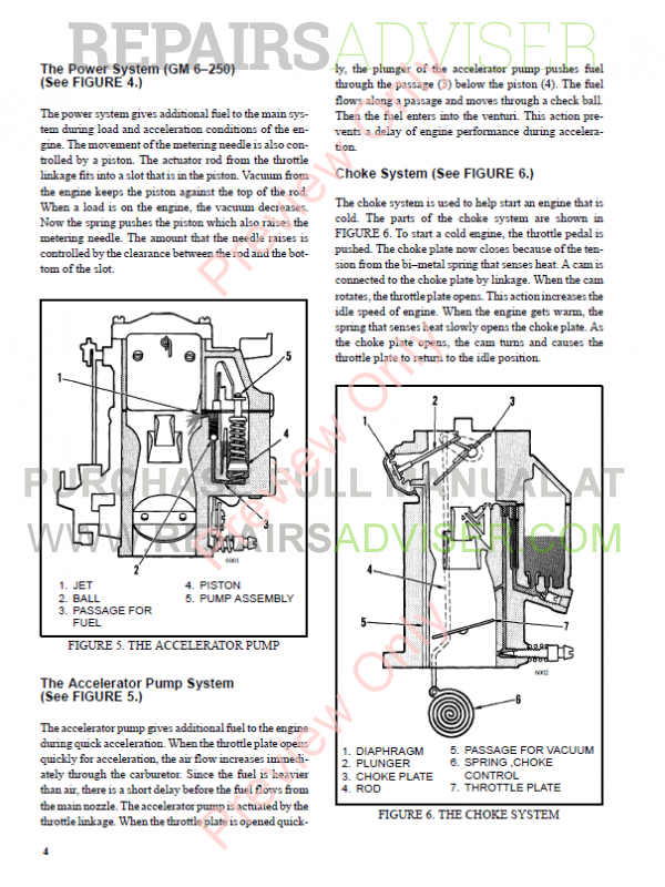 Hyster Class 5 For D005 Americas Internal Combustion Engine Trucks PDF Manual, Manuals for Trucks by www.repairsadviser.com