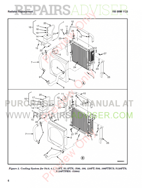 Hyster Class 5 For F001 Internal Combustion Engine Trucks PDF Manual, Manuals for Trucks by www.repairsadviser.com