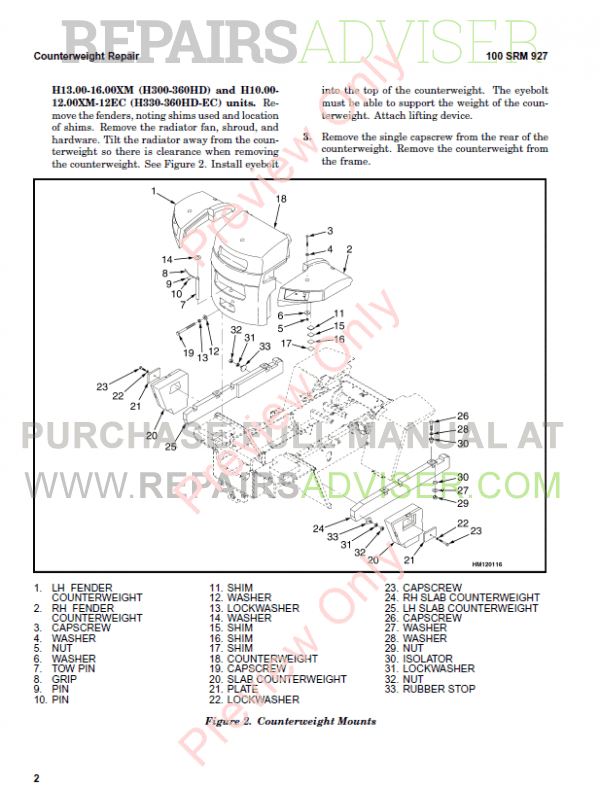 Hyster Class 5 For F019 Internal Combustion Engine Trucks PDF Manual, Manuals for Trucks by www.repairsadviser.com