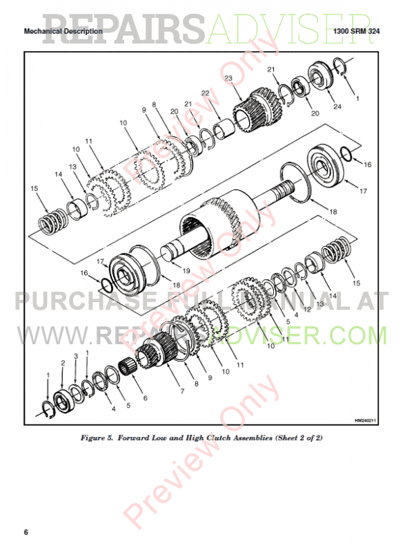 Hyster Class 5 For G006 Europe Internal Combustion Engine Trucks PDF Manual, Manuals for Trucks by www.repairsadviser.com