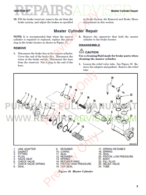 Hyster Class 5 For G006 Internal Combustion Engine Trucks PDF Manual, Manuals for Trucks by www.repairsadviser.com