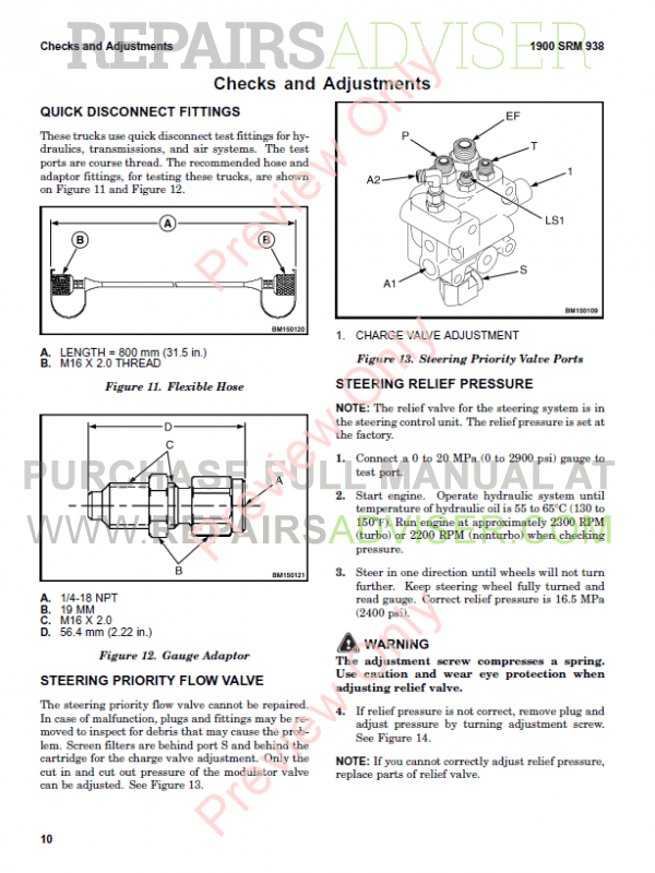 Hyster Class 5 For G007 Europe Internal Combustion Engine Trucks PDF Manual, Manuals for Trucks by www.repairsadviser.com