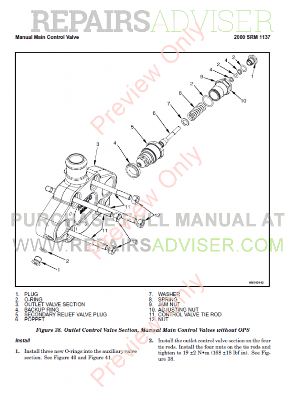 Hyster Class 5 For H006 Internal Combustion Engine Trucks PDF Manual, Manuals for Trucks by www.repairsadviser.com