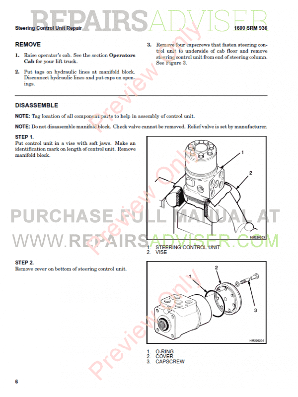 Hyster Class 5 For H007 Europe Internal Combustion Engine Trucks PDF Manual, Manuals for Trucks by www.repairsadviser.com