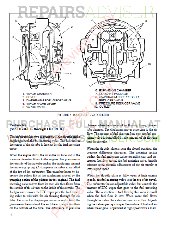 Hyster Class 5 For H177 Europe Internal Combustion Engine Trucks PDF Manual, Manuals for Trucks by www.repairsadviser.com