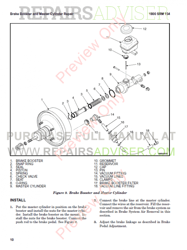 Hyster Class 5 For K005 Europe Internal Combustion Engine Trucks PDF Manual, Manuals for Trucks by www.repairsadviser.com