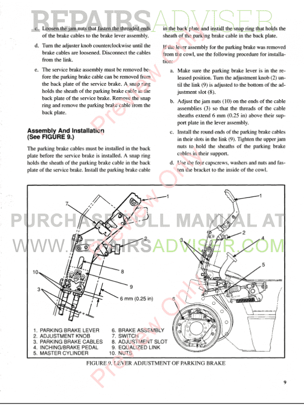 Hyster Class 5 For K177 Internal Combustion Engine Trucks PDF Manual, Manuals for Trucks by www.repairsadviser.com