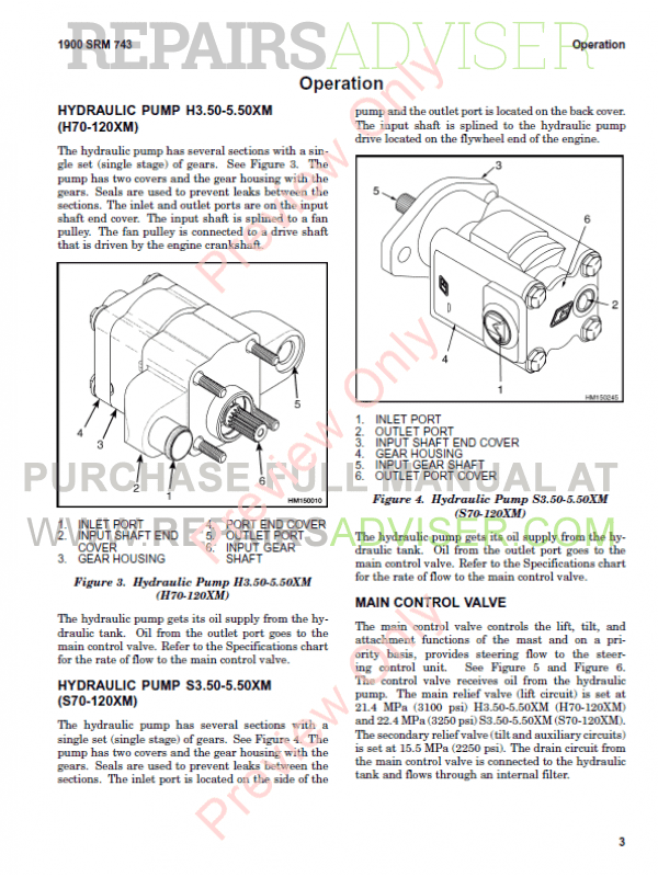 Hyster Class 5 For L005 Internal Combustion Engine Trucks PDF Manual, Manuals for Trucks by www.repairsadviser.com