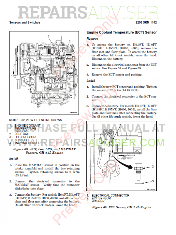 Hyster Class 5 For N005 Internal Combustion Engine Trucks PDF Manual, Manuals for Trucks by www.repairsadviser.com