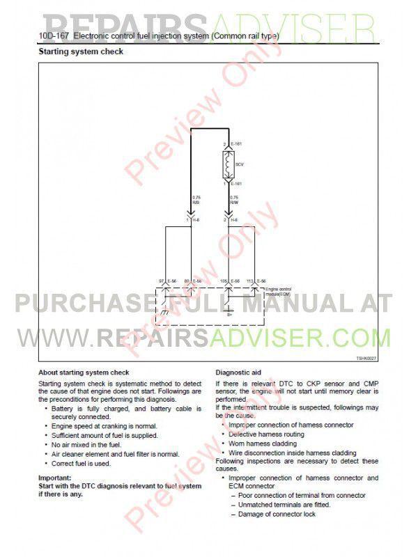 isuzu 4hk1 - 6hk1 model industrial diesel engine workshop manual pdf,  manuals for trucks by