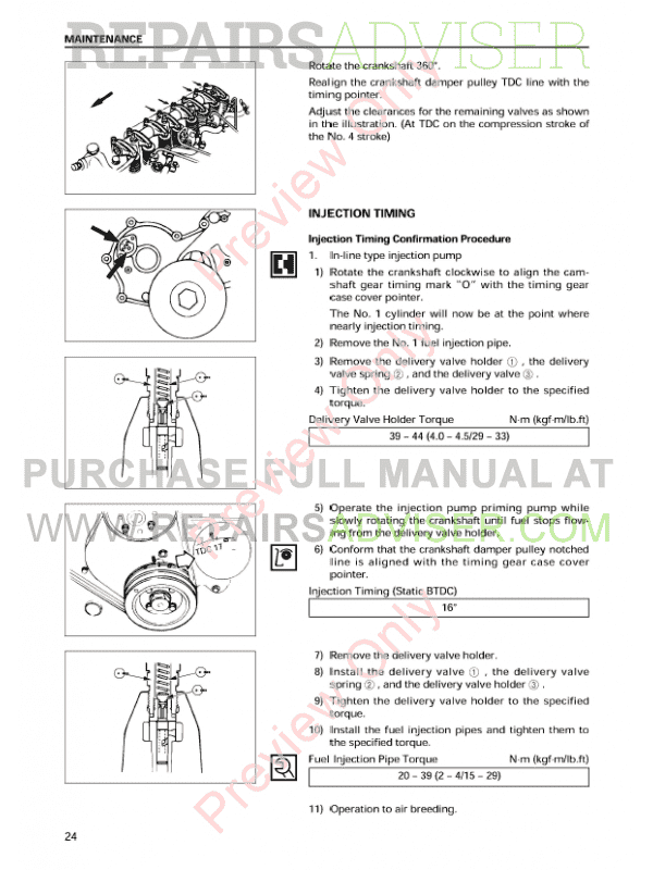 Isuzu Industrial Diesel Engine A-4JG1 Model Workshop Manual PDF, Manuals for Heavy Equip. by www.repairsadviser.com
