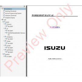 isuzu n series nhr nkr npr nqr nps workshop manual pdf