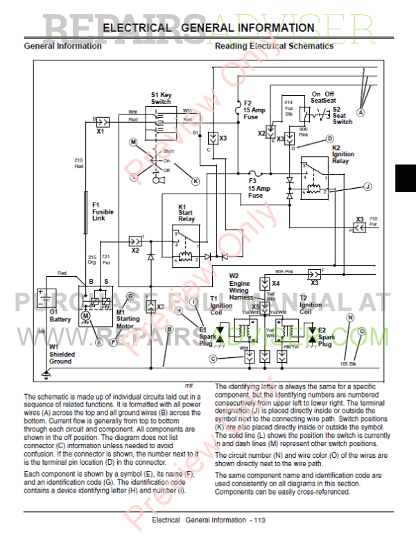 on john deere 140 lawn tractor wiring diagram