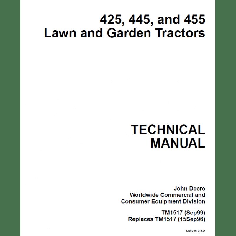 John deere 455 service manual Download
