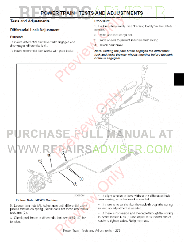 John Deere XUV 620i Gator Utility Vehicle Technical Manual TM-1736 PDF, John Deere Manuals by www.repairsadviser.com