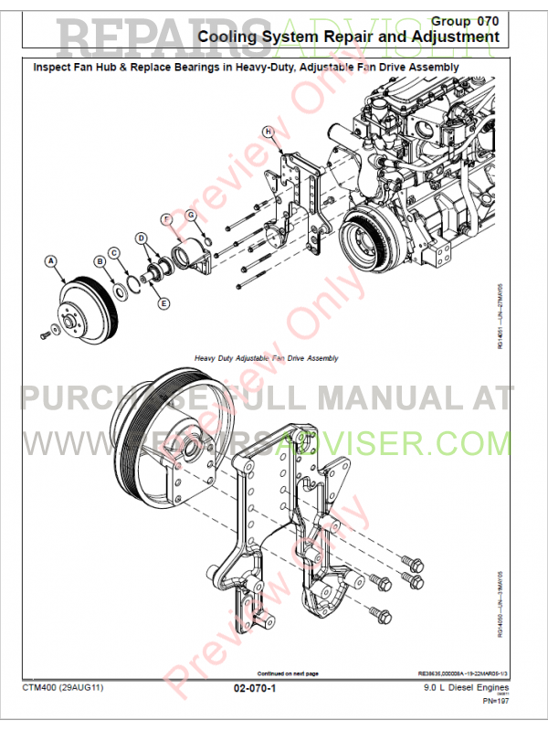John Deere Diesel Engine Parts Diagram