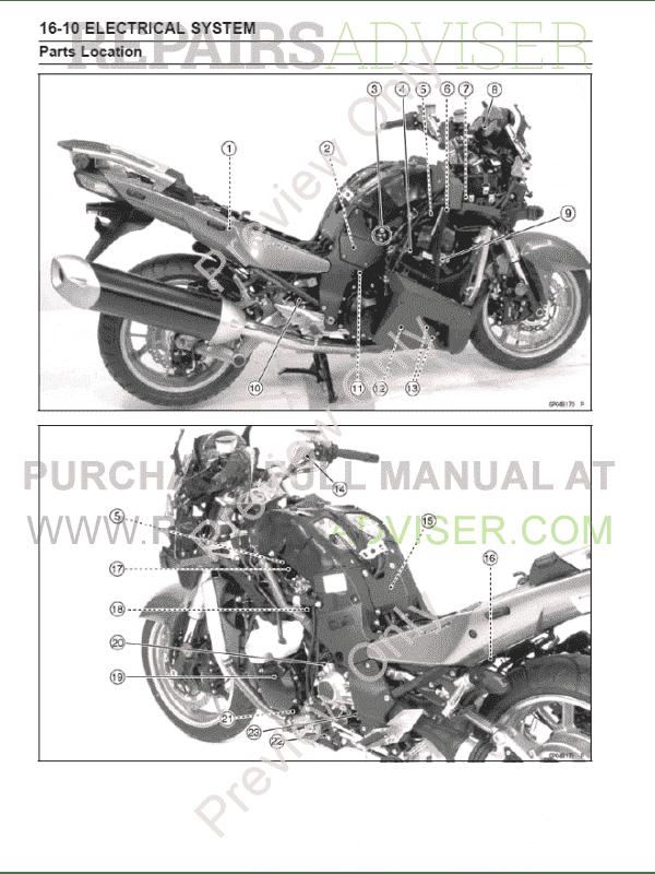 Kawasaki Motorcycles 1400gtr Concours 14 14 Abs Service border=